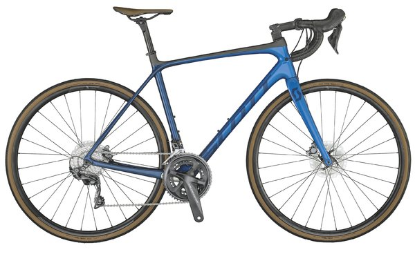 Scott Addict 10 disc marine blue 2021