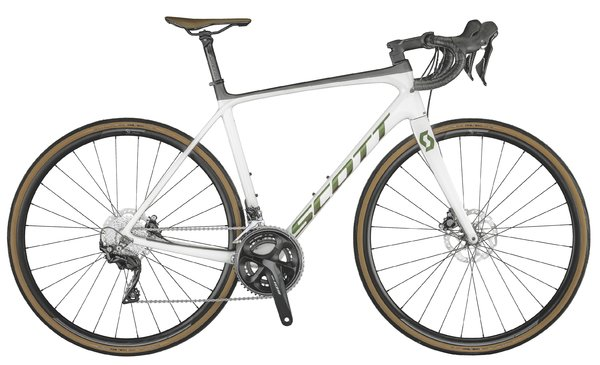Scott Addict 20 disc pearl white 2021
